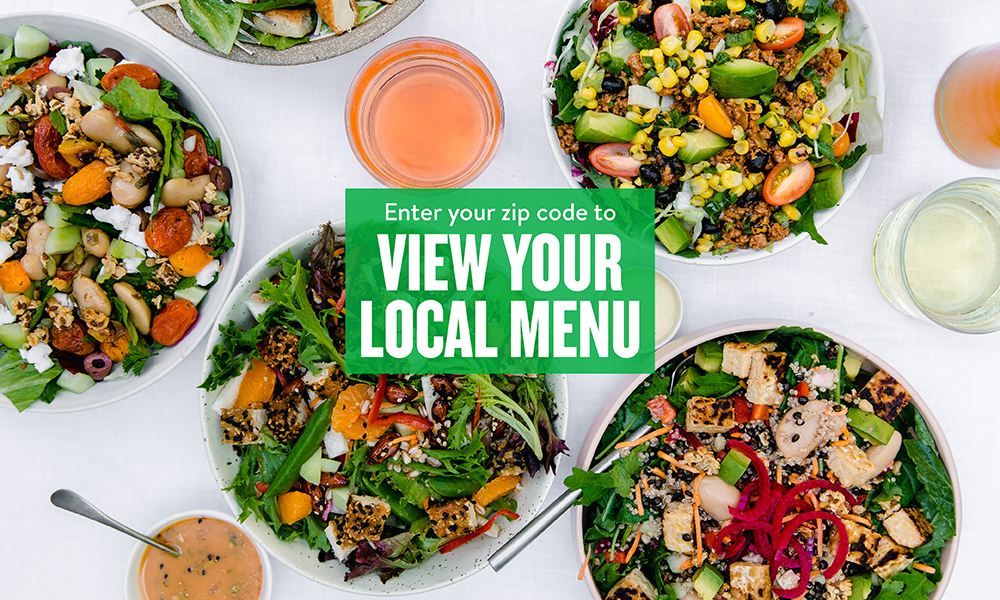 Veggie Grill - Find a location to view the menu